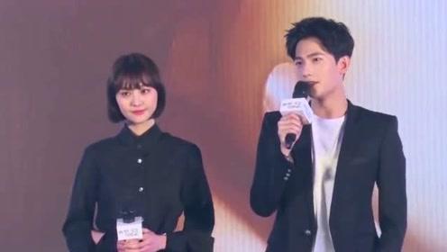 郑爽张恒录节目路透图曝光, 女方在男方面前还是一脸娇羞!