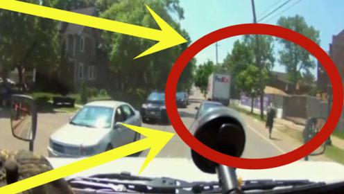 货车司机刚下车就发现不对劲,下秒只恨自己腿太短,这下悲剧了!