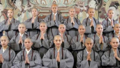 """中国最大""""尼姑庵"""",2万多女性修行,天黑后这一规定让人受不了"""