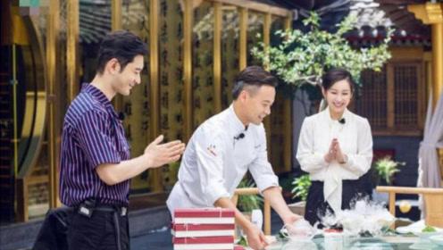 黄晓明指责林大厨做菜慢,2小时做58道菜慢?网友:有本事你来