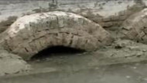 江苏大旱,洪泽湖水位下降露出柱状物体!专家看后:终于找到了