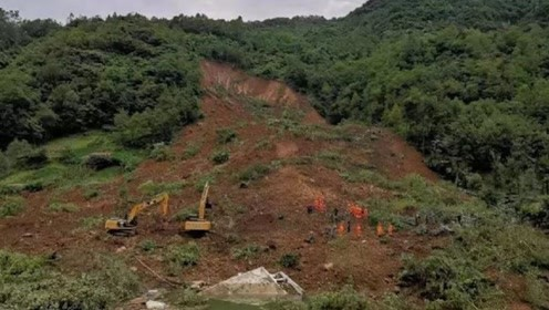 重庆城口县突发山体滑坡 已致1人死亡6人失踪