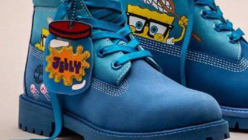 海绵宝宝马丁靴,海绵宝宝这么可爱,怎么可以把海绵宝宝踩在脚下
