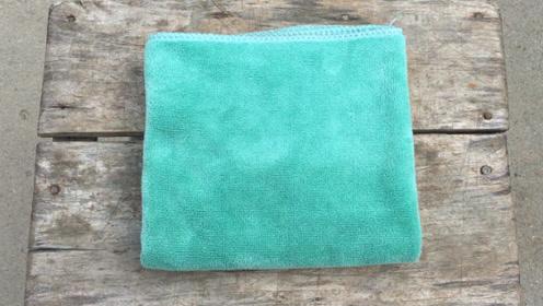 用了几十年才知道,原来毛巾还有这个隐藏功能,不知道太吃亏