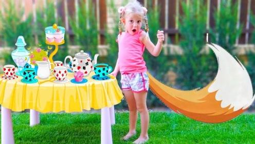 小萝莉误闯奇妙世界,偷喝魔法饮料后,神奇的事情发生了!