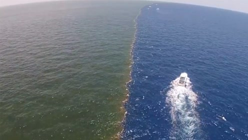 大西洋和太平洋有分界线,两边海水为什么不相融?看完长见识了!