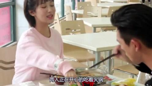 杨紫吃火锅时狂飙英语,谁注意到李现的反应?够我乐一年!