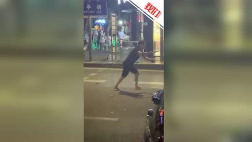 重庆一男子酒后行凶 拿剪刀追拦公交刺死路人
