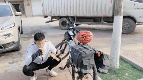 卖电脑买自行车,大学生暑假骑3千里回家