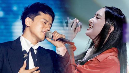 同曲PK:苏北北、张杰对飙高音嗨唱《自己》