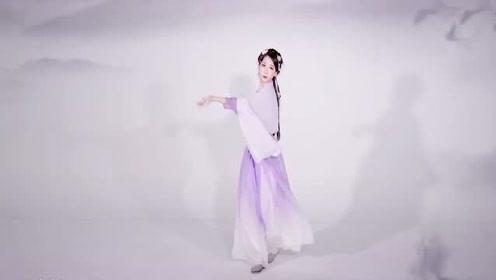 千娇百媚的萌妹子,身材汉服跳舞,这画面太美了