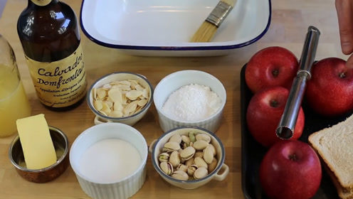 看米其林大厨怎么做苹果,1000块都学不到的配方,免费教你