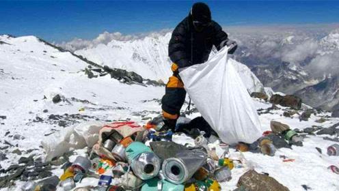 """世界最高峰,如今成""""世上最高的厕所"""",游客每年留下12吨粪便"""