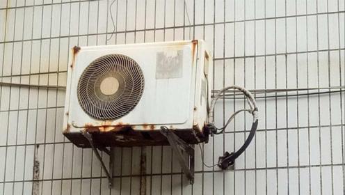"""空调外机每天""""日晒雨淋"""",真的没事?多亏师傅提醒差点出事了"""