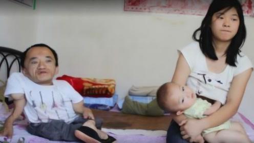 男子高70厘米,娶小10岁高大娇妻,如今生下孩子惊呆众人!
