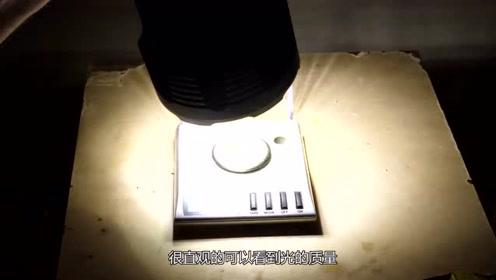 光也是有形的吗?老外用光推金属片,创造奇迹就这么简单