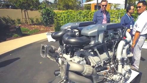 布加迪凭啥卖这么贵?看完发动机后,被彻底震撼了!