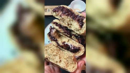 无糖无油全麦面包教程 减脂期作为主食很好