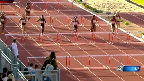 日本美女跨栏,谁知倒数第二个却集体翻车,观众看的眼睛都直了