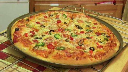 手把手教你在家做披萨,不仅卫生,还比外面买的都美味!