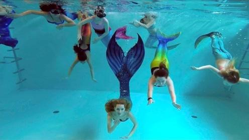 世界最奇特的学校:美人鱼学院,一起来见识下