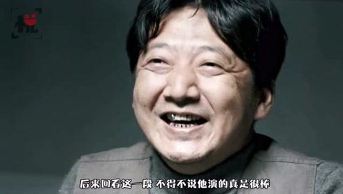 王砚辉去开会时,被导演拉去客串,不到3分钟的戏成了他的成名作