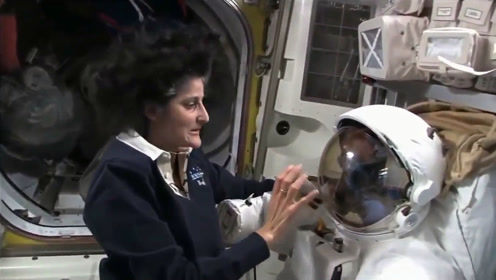 宇航员在太空原来是这样洗漱的,太神奇了,网友:好想体验一下!