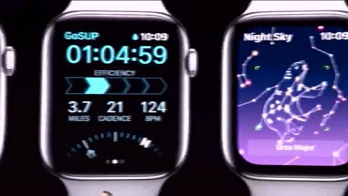 新一代Apple Watch,搭载视网膜显示屏,屏幕永远亮着