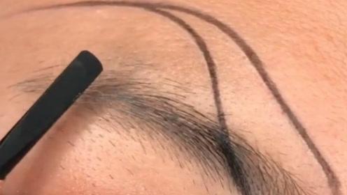 全网最火的韩佩泉眉形,这样的眉毛不火才怪!