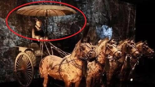 秦始皇铜车上的这把伞,凝聚古代超前黑科技,后人永远无法超越!