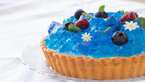 颜值满满的水晶果冻馅饼,好看还好吃,简单易学