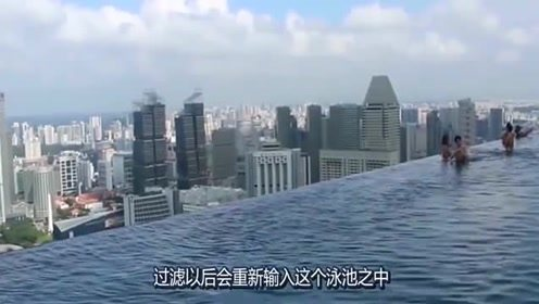 实拍建在200米的高空泳池,一不小心命就没了