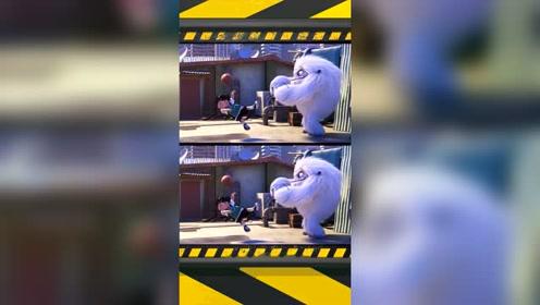 张子枫配音《雪人奇缘》,这表情和声音萌化我了!