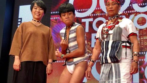 中国最拼的明星,一条丁字裤走上红毯,网友直言第一次见