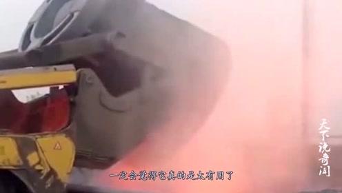 """卡车界的""""背锅侠"""",运输1310℃高温材料,一般司机不敢开"""