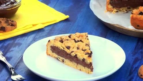 香脆的爆浆巧克力饼干,你会爱上这个味道