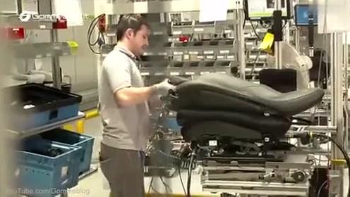 保时捷911 Turbo S汽车工厂高清实拍展示