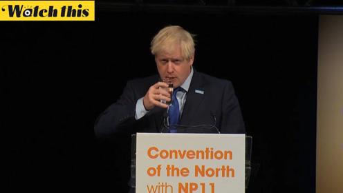 鲍里斯演讲遭受诘问 民众怒怼:你应该回议会收拾你的烂摊子