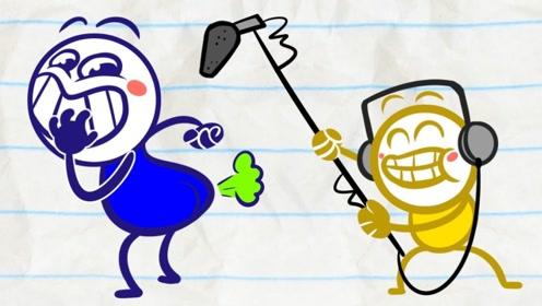 铅笔人被狗仔偷拍了,曝光到网上被群嘲,结果他却乐开了花!