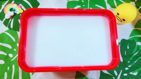 白胶也会过期?搭配家里材料做奶糖胶,光滑得像镜子,最后超意外