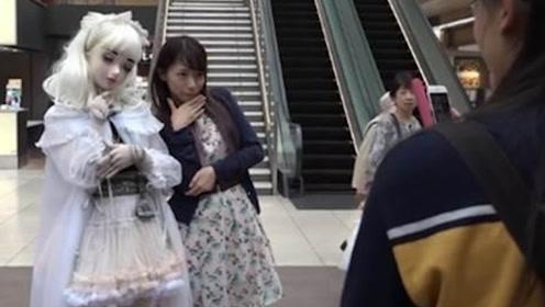 日本女孩耗时9年,把自己整成真人娃娃,这样真的美吗?
