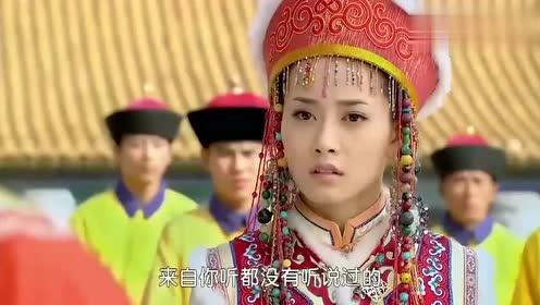 这么嚣张也只能是小燕子了,当众和人吵架,皇上在旁都不敢批评她