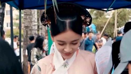 Angelababy首次挑战清宫戏造型 颦蹙间尽显温柔
