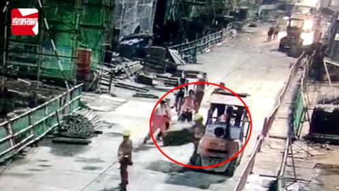 痛心!吊起建材突然坠落,广西一工地工人不幸被砸身亡
