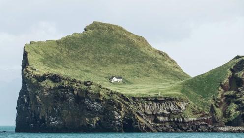 世界上最孤独的房屋,独占45万平方米,四周全是悬崖