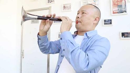 他央视舞台吹唢呐为谭维维伴奏:唢呐不土,会成为世界级乐器