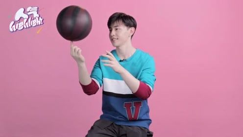 邓伦自称学生时代打篮球没有女生围观,这困惑的小表情也太可爱了