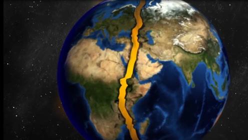地球要是被切成两半,会成啥样,世界末日即将来临?