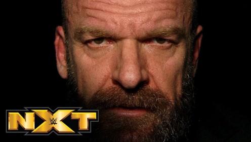 NXT登陆美国电视台直播 游戏之王HHH霸气领衔最新宣传片