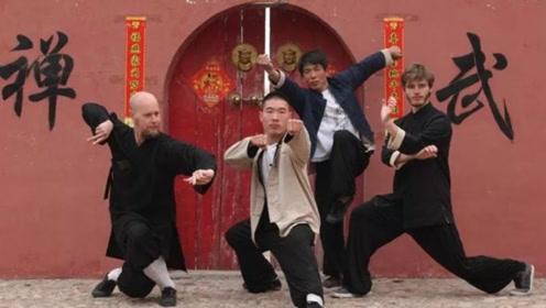 何人敢去少林寺学艺?这群外国人斗胆尝试,回国后无人敢惹!